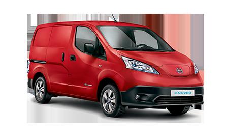 Nissan e-NV200 utilitaire électrique rouge yvelines