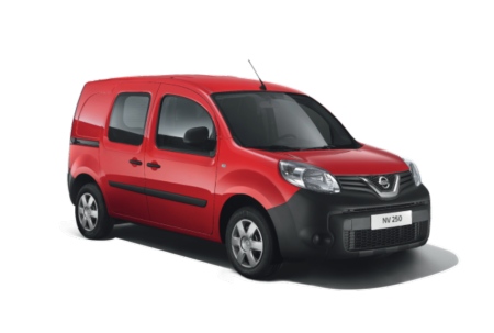 Nissan utilitaire NV250 compact et polyvalent rouge yvelines